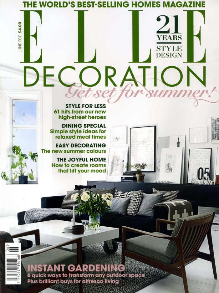 Elle Deco Cover June 2011