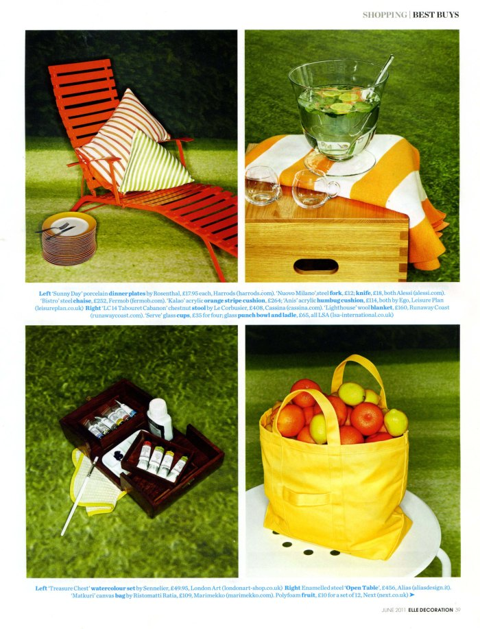 Elle Deco Coverage June 2011