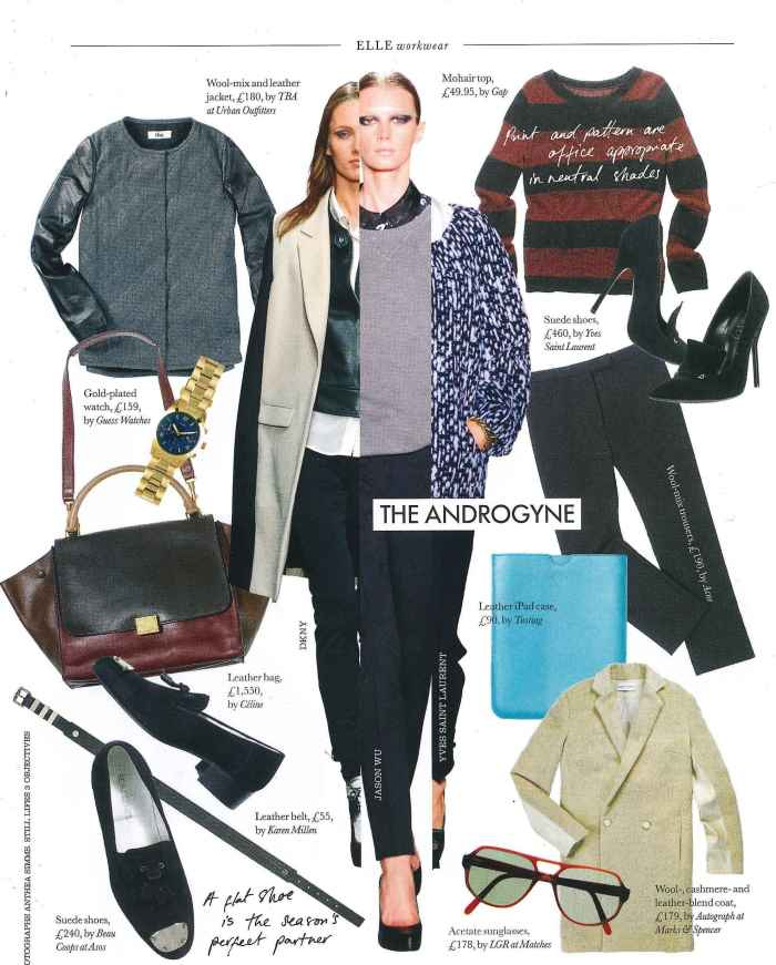 Elle November coverage