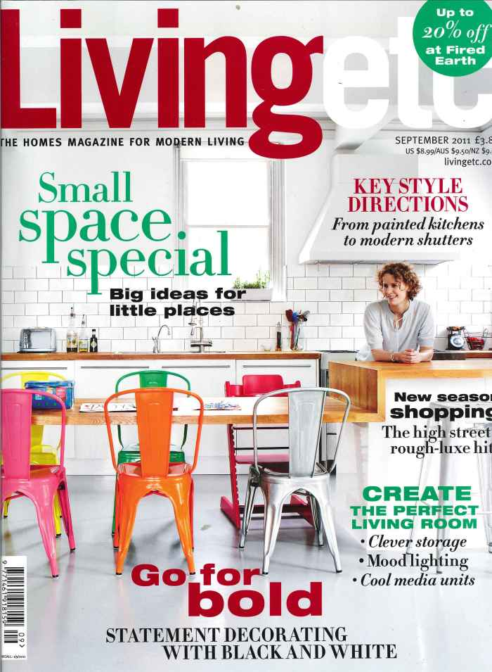 Living ETC September Issue Cover