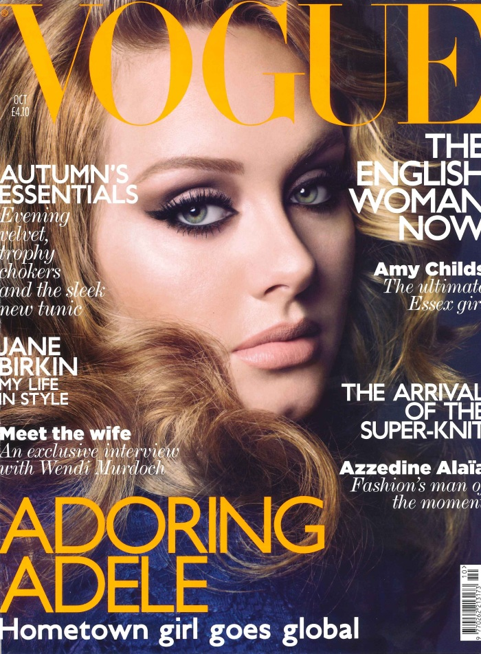 Vogue October 2011 Cover