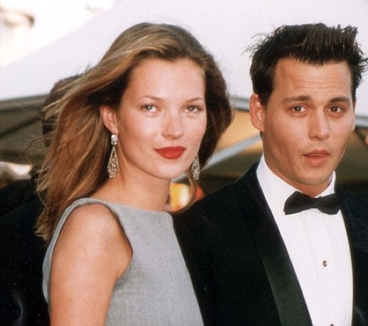 PKT 1518 -100288 JOHNNY DEPP  Kate Moss and Johnny Depp