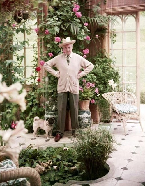 30. Cecil Beaton in his Conservatory