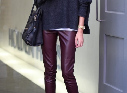 6. leather pants