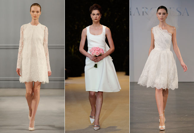 bridal-fashion-week-2014-short-dresses