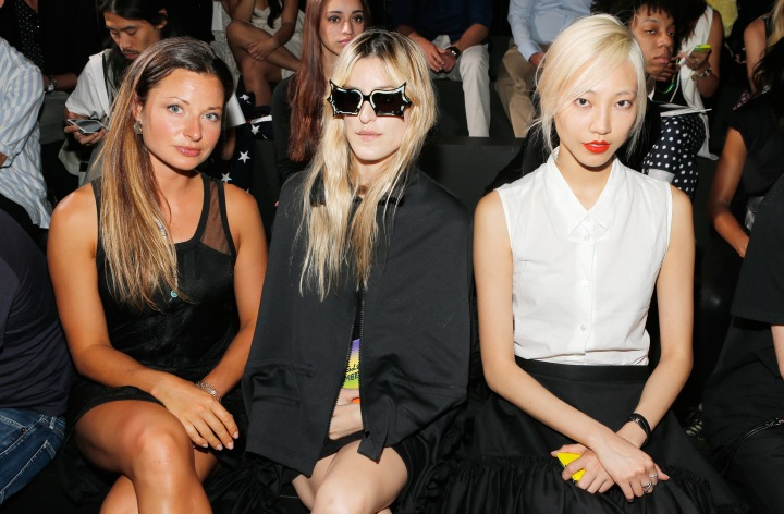 Y-3 Spring/Summer 2014 Mercedes-Benz Fashion Week - Front Row