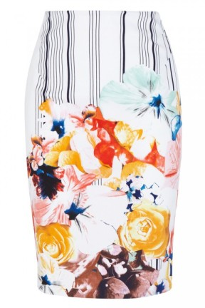 Karen-Millen-Stripe-And-Floral-Print-Skirt-99