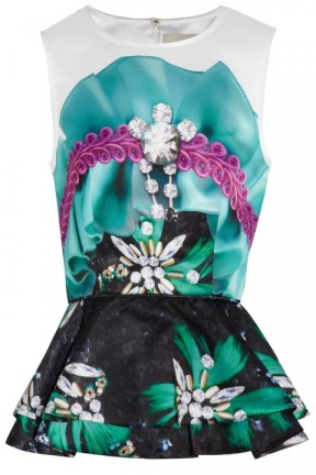 Mary-Katrantzou-Printed-Satin-Peplum-Top-865
