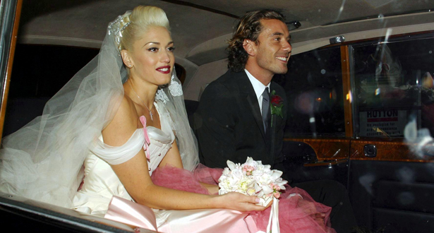 WEDDING OF GWEN STEFANI AND GAVIN ROSSDALE, LONDON, BRITAIN - 14 SEP 2002