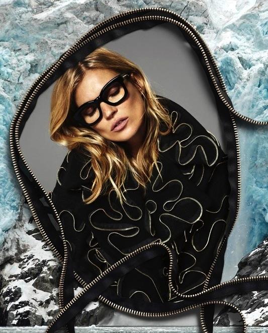 Le-Fashion-Blog-Kate-Moss-Stella-McCartney-FW-2014-Ad-Campaign-Black-Glasses-Zipper-Sweater