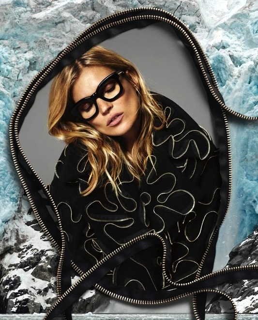 Le-Fashion-Blog-Kate-Moss-Stella-McCartney-FW-2014-Ad-Campaign-Black-Glasses-Zipper-Sweater