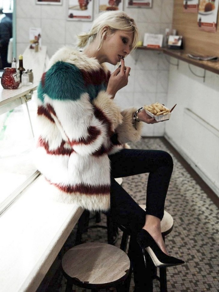 Le-Fashion-Blog-Currently-Craving-Colorful-Fur-Fries-Aline-Weber-Maison-Scotch-Lookbook-Black-Skinny-Jeans-Pumps