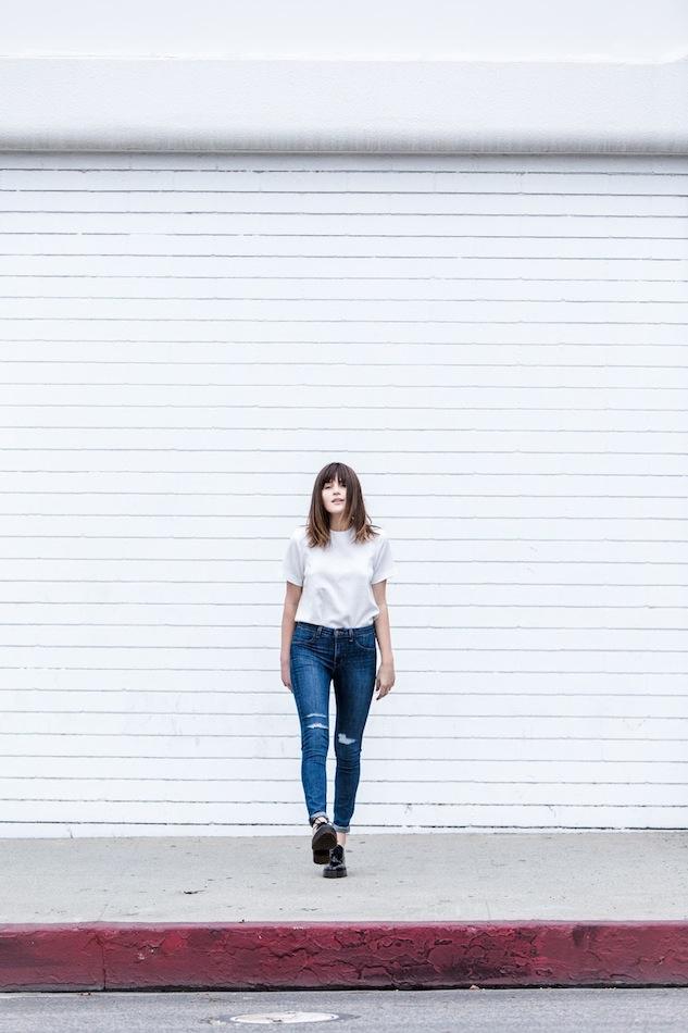 Le-Fashion-Blog-Long-Bob-Bangs-White-Boxy-Short-Sleeve-Top-High-Waisted-Ripped-Jeans-Black-Chunky-Oxfords-Via-Fire-On-The-Head