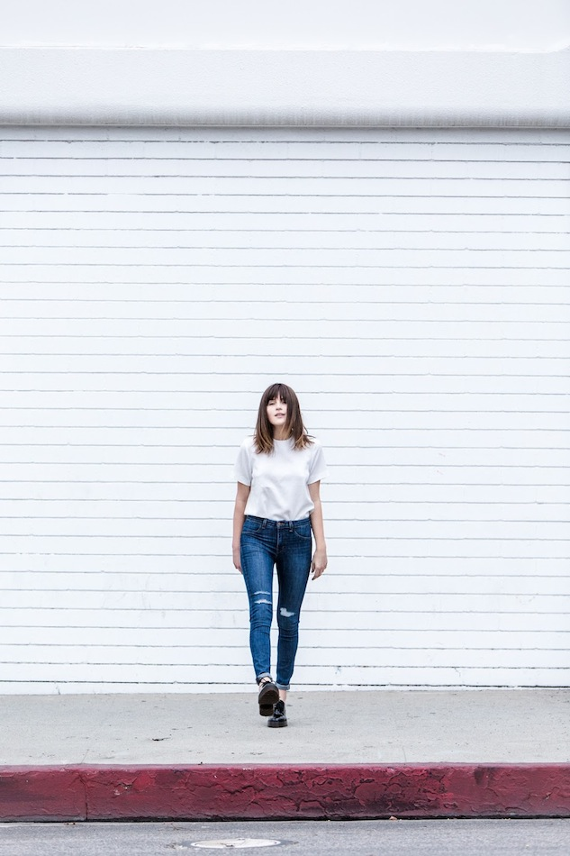 Le-Fashion-Blog-Long-Bob-Bangs-White-Boxy-Short-Sleeve-Top-High-Waisted-Ripped-Jeans-Black-Chunky-Oxfords-Via-Fire-On-The-Head