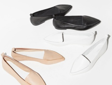 Le-Fashion-Blog-Shoe-Crush-Jeffrey-Campbell-Vionnet-Classic-Pointy-Toe-Loafers-100-Budget-Friendly-Black-White-Nude-Flats