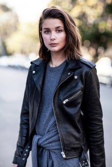 Le-Fashion-Blog-Fall-Leather-Moto-Jacket-With-Belt-Dark-Grey-Tie-Front-Sweater-Dress-Via-Harper-And-Harley