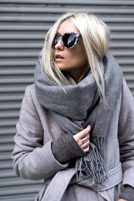 Le-Fashion-Blog-Winter-Style-Tortoise-Sunglasses-Grey-Oversized-Scarf-Longline-Coat-Charcoal-Sweater-Via-FIGTNY